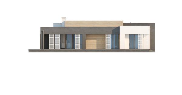 проект каркасно монолитного дома SDn 422 8