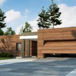 проект каркасно-монолитного дома SDn-427 1
