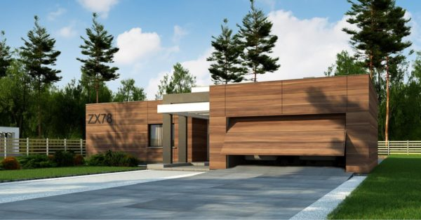 проект каркасно монолитного дома SDn 427 1