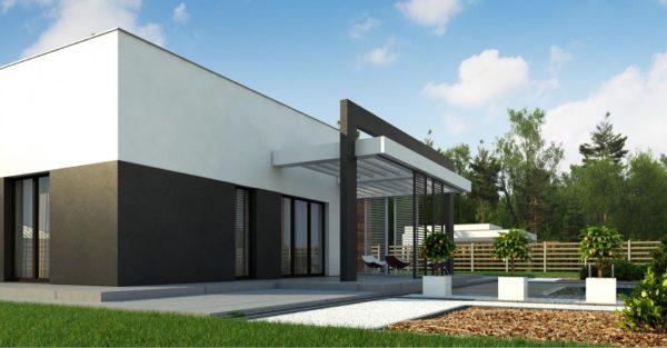 проект каркасно монолитного дома SDn 427 2