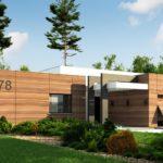проект каркасно-монолитного дома SDn-427 4
