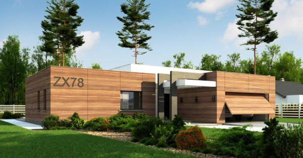проект каркасно монолитного дома SDn 427 4