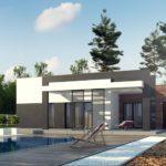 проект каркасно-монолитного дома SDn-427 7