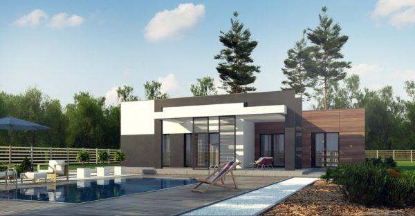 проект каркасно монолитного дома SDn 427 7
