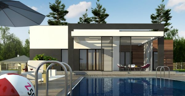 проект каркасно монолитного дома SDn 427 9
