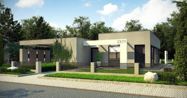 проект каркасно монолитного дома SDn 428 1