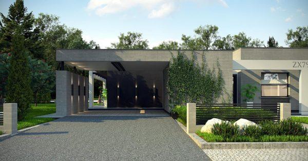 проект каркасно монолитного дома SDn 428 2