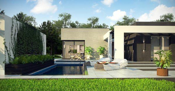 проект каркасно монолитного дома SDn 428 3