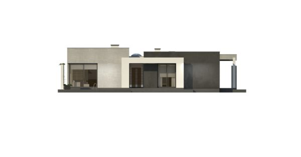 проект каркасно монолитного дома SDn 428 4