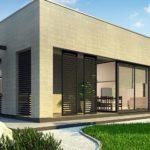 проект каркасно-монолитного дома SDn-428 6