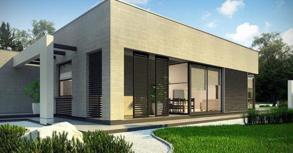 проект каркасно монолитного дома SDn 428 6