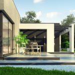 проект каркасно-монолитного дома SDn-428 8