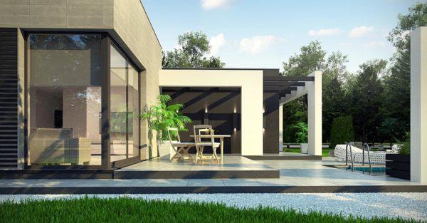 проект каркасно монолитного дома SDn 428 8