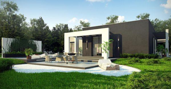 проект каркасно монолитного дома SDn 428 9