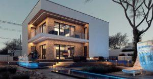 проект каркасно монолитного дома SDn 429 3