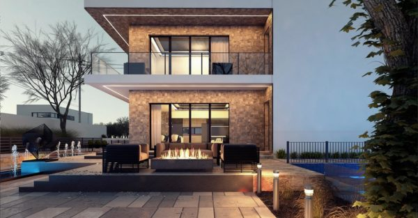 проект каркасно монолитного дома SDn 429 6