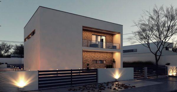 проект каркасно монолитного дома SDn 429 7