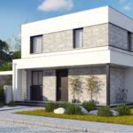 проект каркасно-монолитного дома SDn-430 3