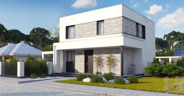 проект каркасно монолитного дома SDn 430 3