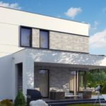 проект каркасно-монолитного дома SDn-430 4