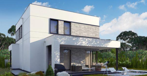 проект каркасно монолитного дома SDn 430 4