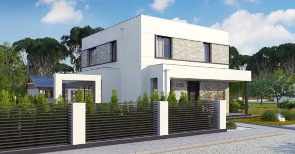проект каркасно монолитного дома SDn 430 5