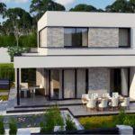 проект каркасно-монолитного дома SDn-430 6