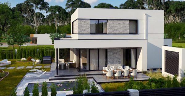 проект каркасно монолитного дома SDn 430 6