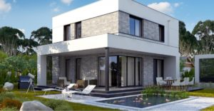 проект каркасно монолитного дома SDn 430 7