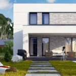 проект каркасно-монолитного дома SDn-430 8