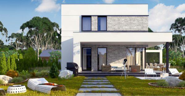 проект каркасно монолитного дома SDn 430 8