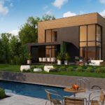 проект каркасно-монолитного дома SDn-431 5