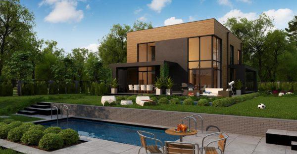 проект каркасно монолитного дома SDn 431 5