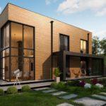 проект каркасно-монолитного дома SDn-431 6