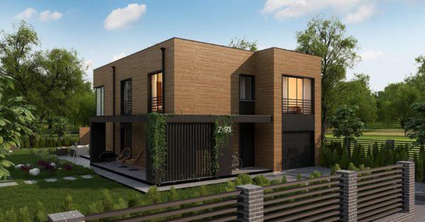 проект каркасно монолитного дома SDn 431 8