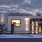 проект каркасно-монолитного дома SDn-434 1