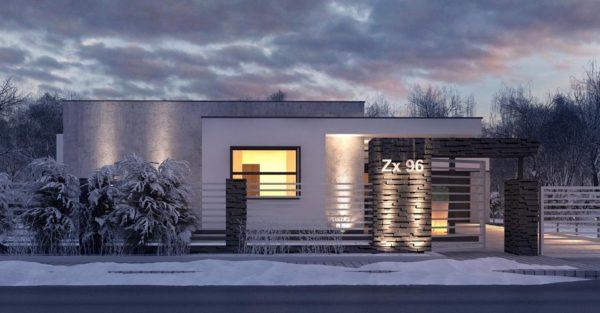 проект каркасно монолитного дома SDn 434 1