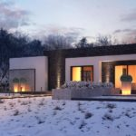 проект каркасно-монолитного дома SDn-434 2