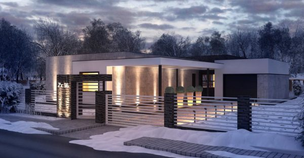проект каркасно монолитного дома SDn 434 3