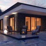 проект каркасно-монолитного дома SDn-434 4