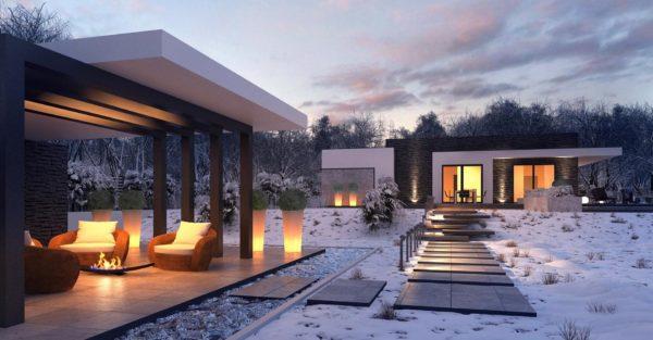 проект каркасно монолитного дома SDn 434 5