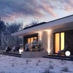 проект каркасно-монолитного дома SDn-434 6