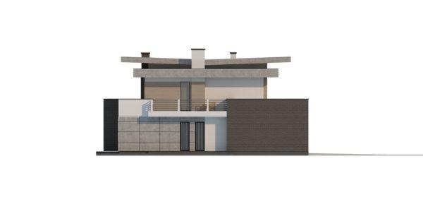 проект каркасно монолитного дома SDn 444 10