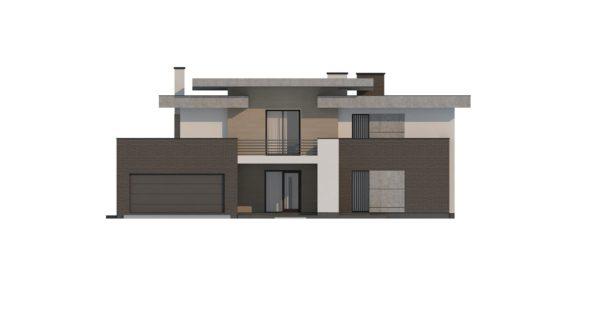 проект каркасно монолитного дома SDn 444 11