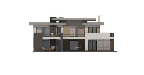 проект каркасно монолитного дома SDn 444 12