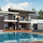 проект каркасно-монолитного дома SDn-444 3