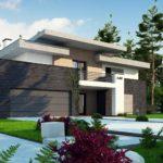 проект каркасно-монолитного дома SDn-444 6