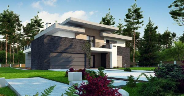 проект каркасно монолитного дома SDn 444 6