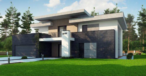 проект каркасно монолитного дома SDn 444 7