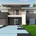 проект каркасно-монолитного дома SDn-444 8